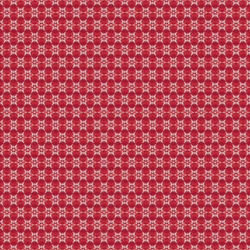 Riley Blake Designs - Postcards for Santa - Snowflake in Red *** FULL BOLT OF 9.1 METRES ***