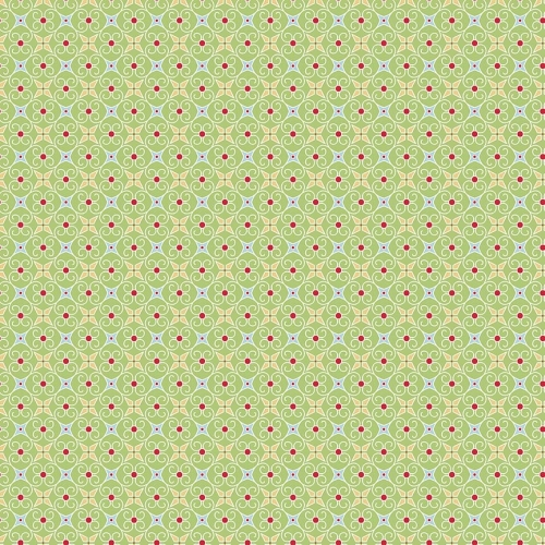 Riley Blake Designs - Cozy Christmas - Wrapping Paper in Green