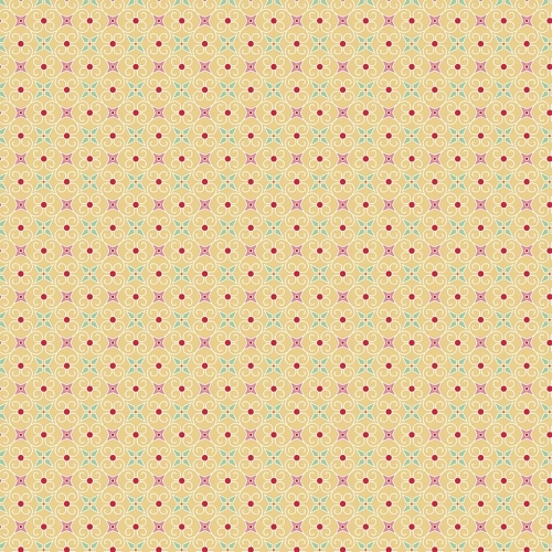 Riley Blake Designs - Cozy Christmas - Wrapping Paper in Yellow