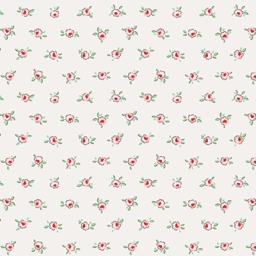 Penny Rose Fabrics - Little Dolly by Elea Lutz - Rose in Pink