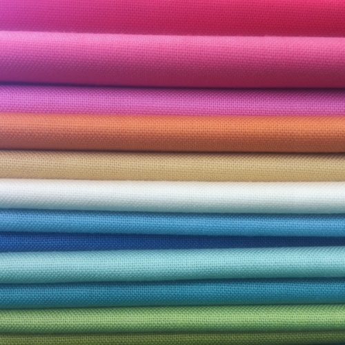 Devonstone Collection - Fat Quarter Bundle of 12 solid fabrics