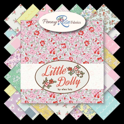 Penny Rose Fabrics - Little Dolly - 10 Inch Stacker 42 Pieces