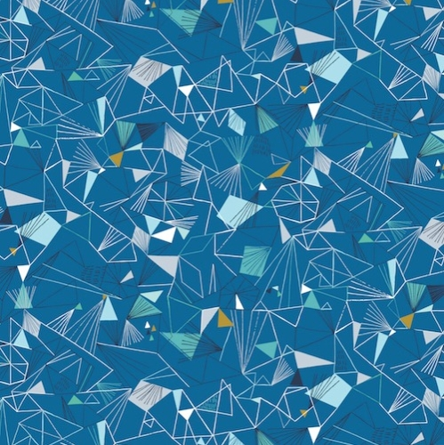 Dashwood Studio - Norrland Ice in Blue with Gold Metallic Accents