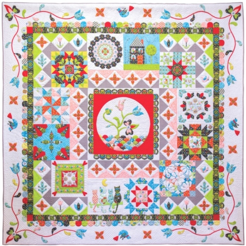 Riley Blake Designs - Patchwork Puzzle Quilt Finishing Kit Only