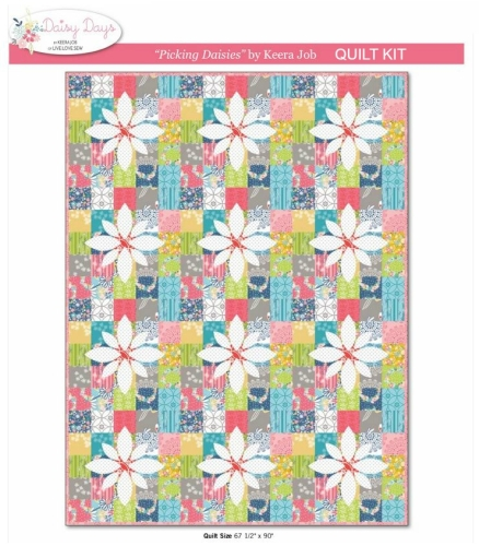 Riley Blake Design - Daisy Days Picking Daisies Quilt Kit