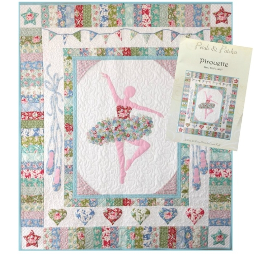 Tilda - Pirouette Quilt Kit by Petals and Patches