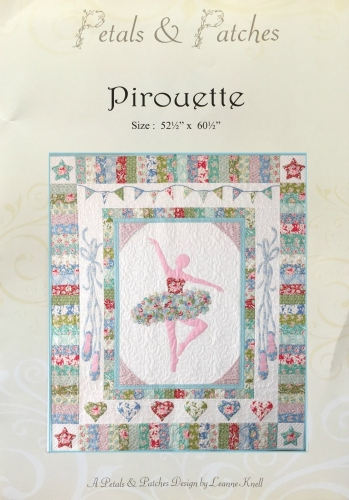 Pirouette Quilt Pattern by Petals and Patches