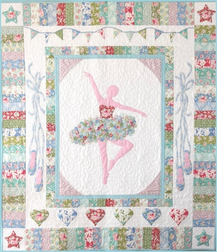 Tilda - Circus - Pirouette Quilt Kit (FABRIC KIT EXCLUDING THE PATTERN)