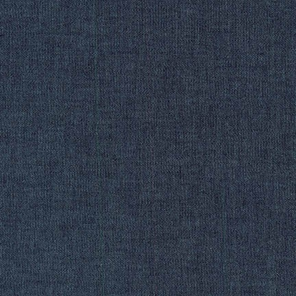 Robert Kaufman - Indigo Stretch Denim 6 OZ - Extra Wide 129cm