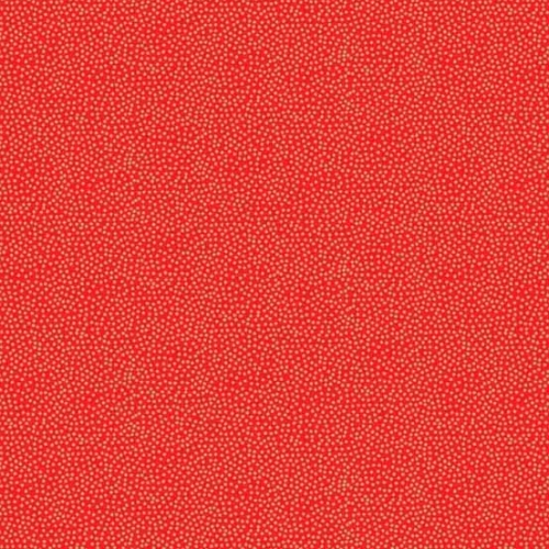 Andover - Modern Metallic Christmas - Dotty in Red