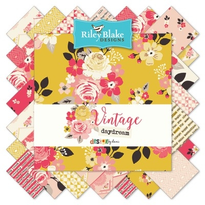 Riley Blake Designs -Vintage Daydream - 10 Inch Stacker of 18 pieces