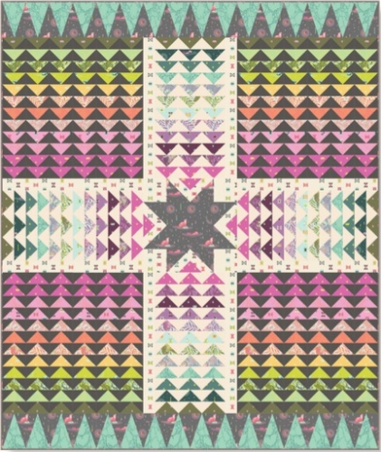 Freespirit - Spirit Animal by Tula Pink - Wayfinder Quilt Kit 64