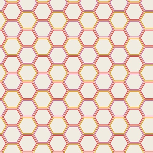 Art Gallery - Sweet As Honey - Honeycomb Marmalade *** REMNANT 3.8 METRE PIECE ***