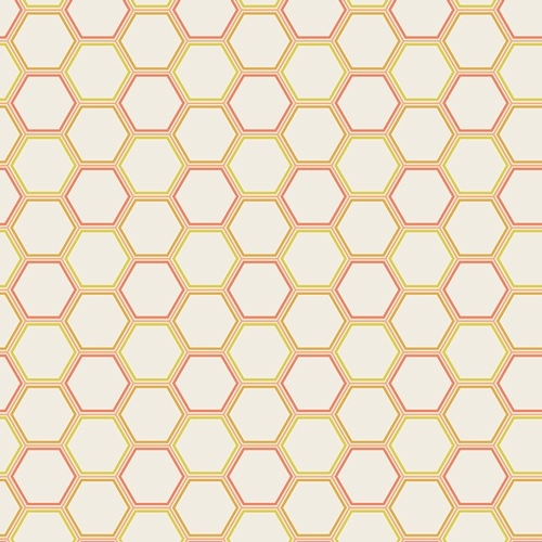 Art Gallery - Sweet As Honey - Honeycomb Nectar *** REMNANT 4.6 METRE PIECE ***