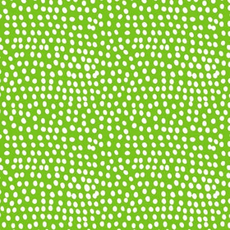 Dashwood Studio - Flurry Dots in Grass Green