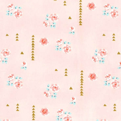 Michael Miller - Brambleberry Ridge by Violet Craft - Rosemilk in Cameo