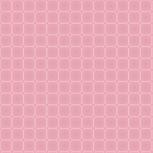 P & B Textiles - Fontaine - Tile in Pink