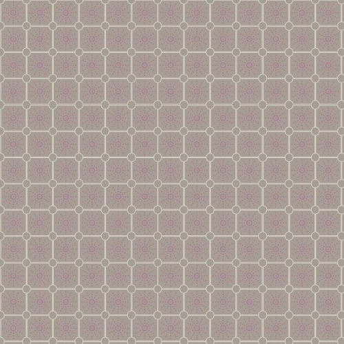P & B Textiles - Fontaine - Tile in Grey *** REMNANT 1.49 METRE PIECE ***