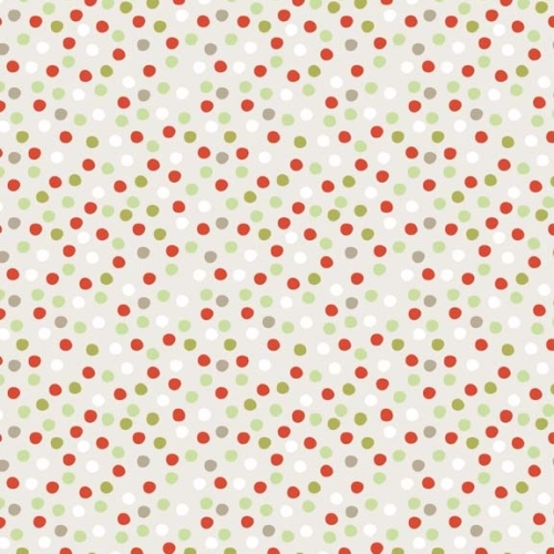 Riley Blake - A Merry Little Christmas - Dots in Taupe