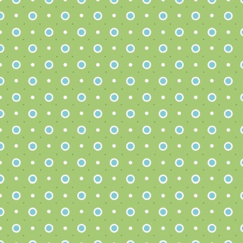 Riley Blake Designs - Bake Sale - Dots in Green *** REMNANT 2.86 METRE PIECE ***