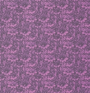 Tula Pink - True Colors - Daisy Buds in Wisteria