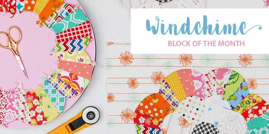 Windchime Block of the Month
