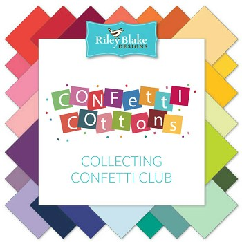 Riley Blake Designs - Collecting Confetti Solids Club