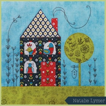 Patchwork Puzzle Quilt Block Kit by Natalie Lymer from Cinderberry Stitches