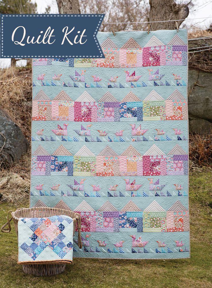 Tilda Bird Pond Quilt Kit