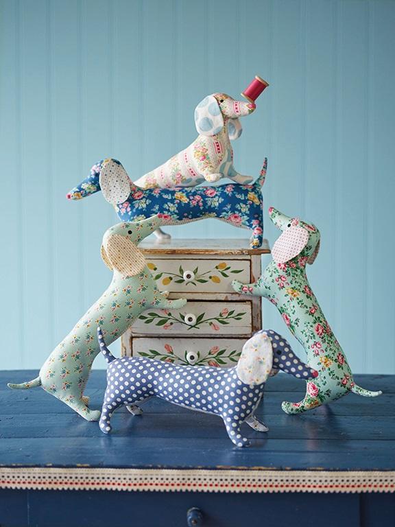 Tilda Apple Butter Sewing Kit Dapper Dachshund