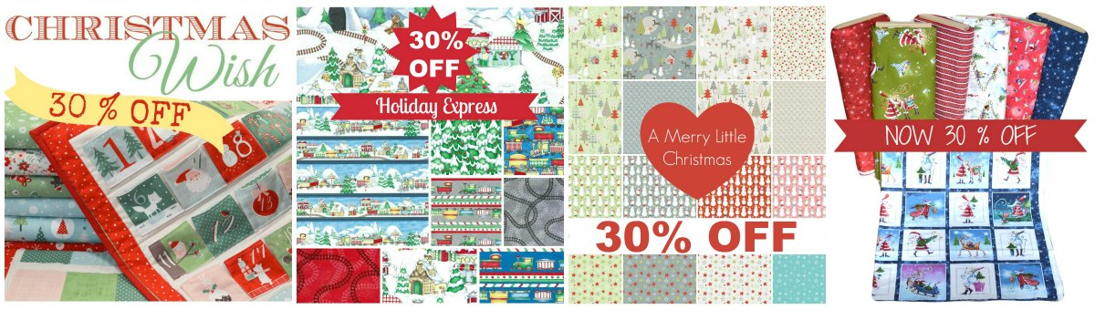 Christmas Fabric Sale