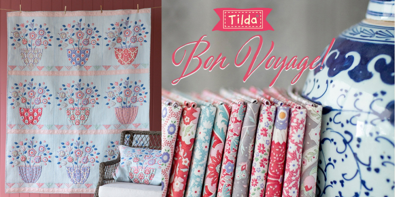 * Nuevo tilda Bon Voyage-flowerleaf-Arena