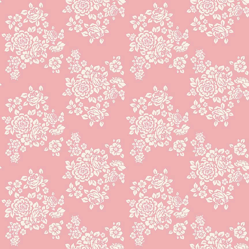 Penny Rose Fabrics Anne Of Green Gables Bouquet Pink