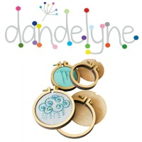 Dandelyne Embroidery Hoops