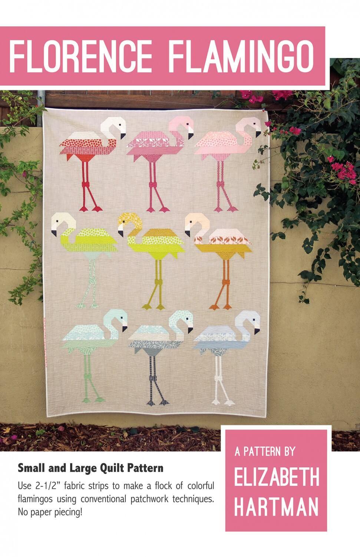 Elizabeth Hartman-Florence Flamingo-petites et grandes Quilt Pattern * Nouveau