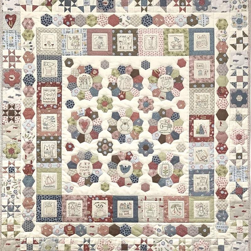 Heartstrings Quilt Pattern by Natalie Bird
