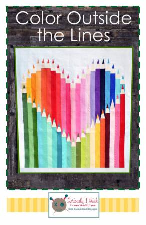 Color Outside The Lines Quilt Kit
