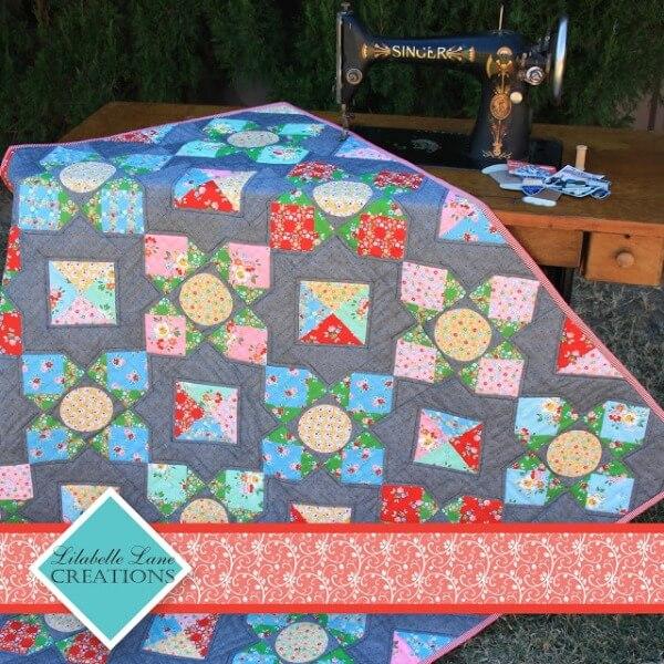 Lily's Garden Quilt pattern