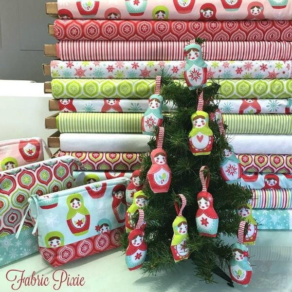 Merry Matryoshka Ornaments