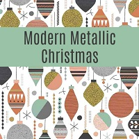Modern Metallic Christmas