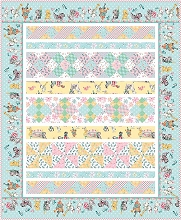 Penny Rose Fabrics Perfect Party - Block Party Quilt Kit