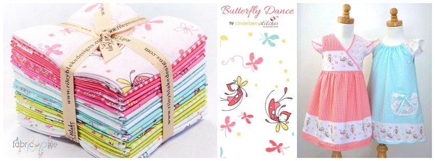 Butterfly Dance Fabric
