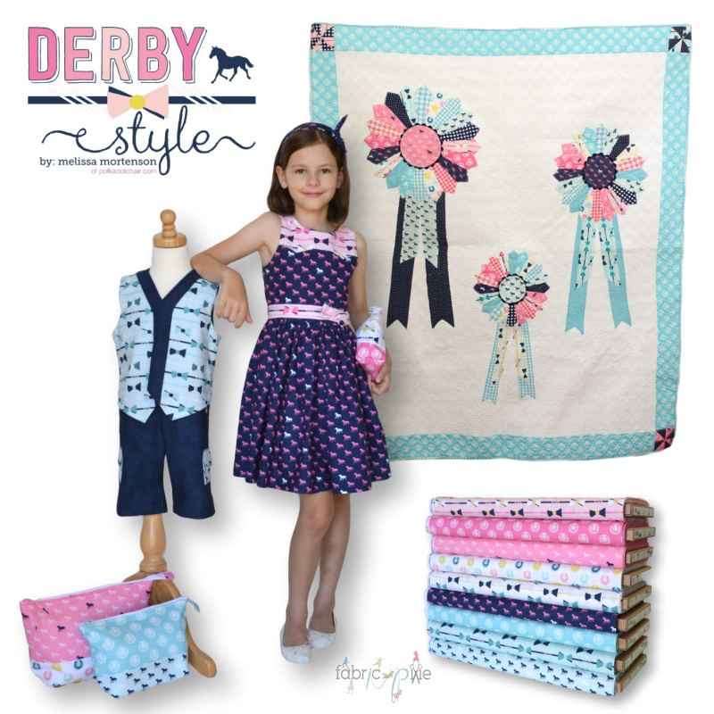 Riley Blake Designs - Derby Style by Melissa Mortenson
