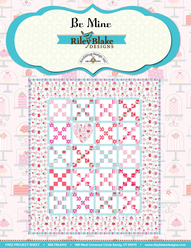 Sweetcakes Be Mine Quilt Pattern
