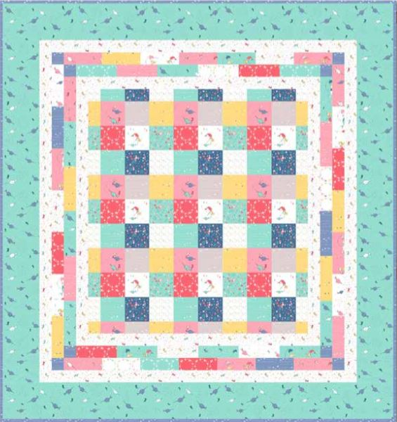 Free Little Mermaid Quilt Pattern