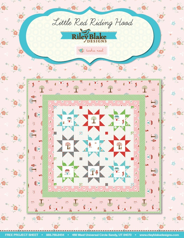 Little Red Riding Hood Quilt Pattern
