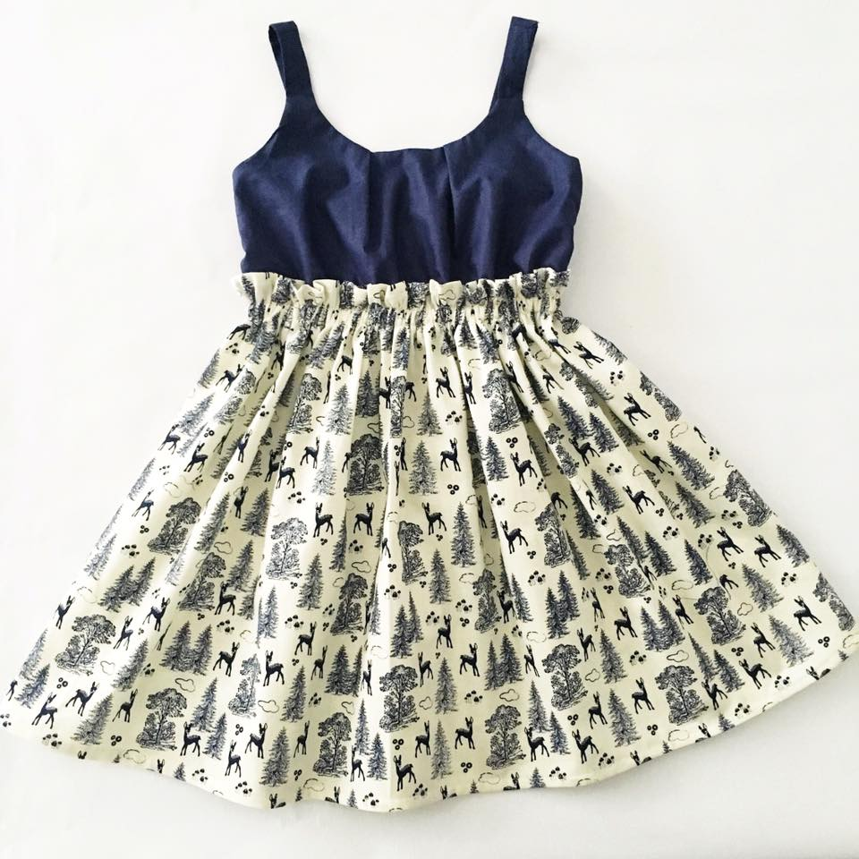 Studio Sew Sachi Girls Dress Pattern Sizes 1 To 8 Years