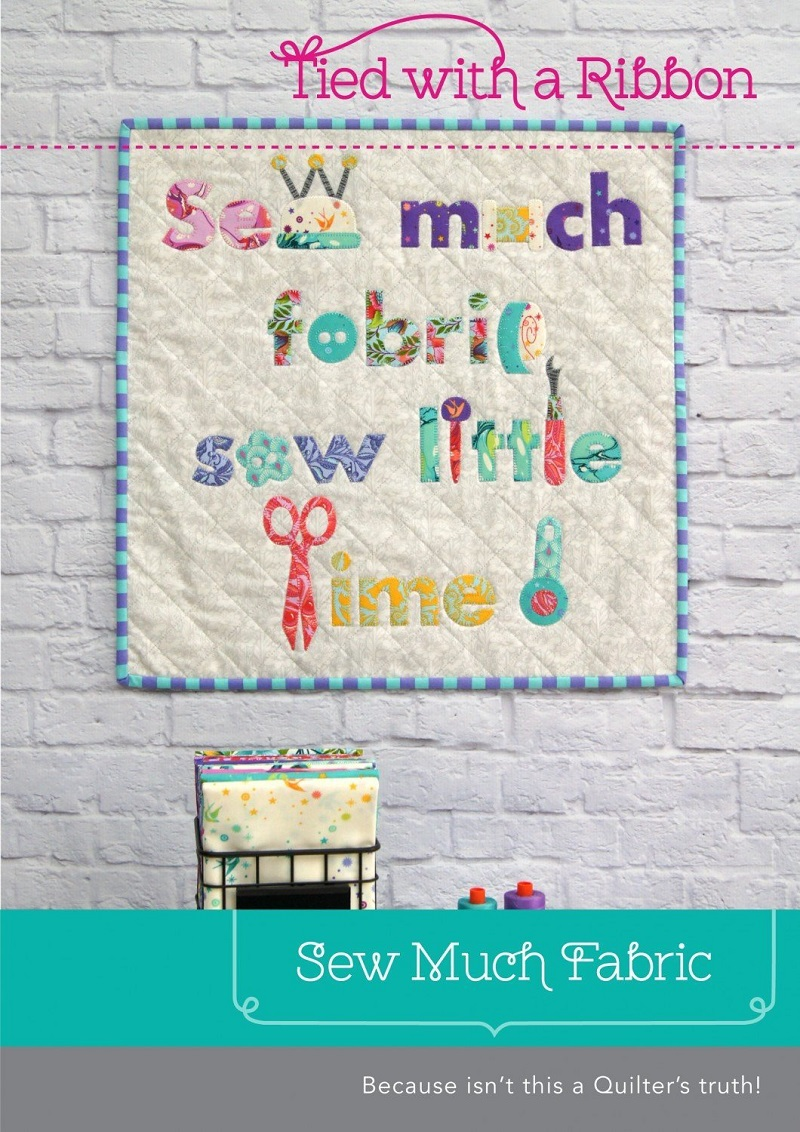 Tied With A Ribbon Sew Much Fabric Mini Quilt Pattern
