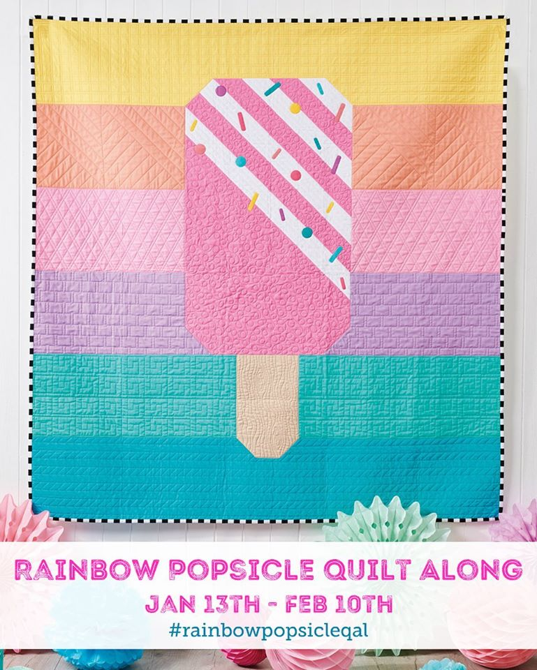 Rainbow Popsicle Sew Along