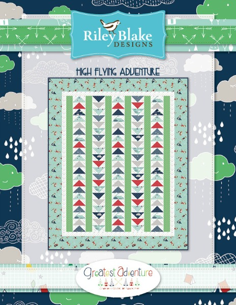Flying High Adventure Free Quilt Pattern